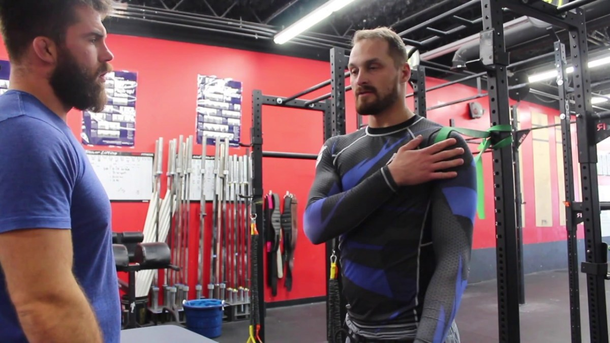 These Exercises Will Help Your Sore Shoulders Recover From Tough Jiu-Jitsu Classes